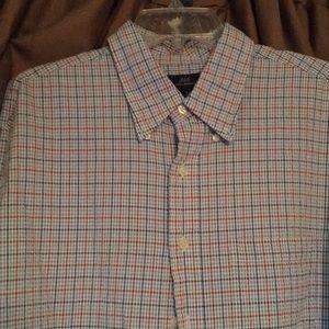 Men's brooks brothers 346 long sleeve shirt